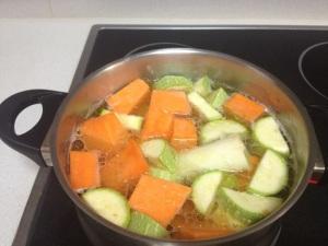 Cremita de verduras de Saida y Jose también. Gracias por la confianza!!!!