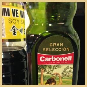 1/4 de vaso, de aceite de oliva virgen